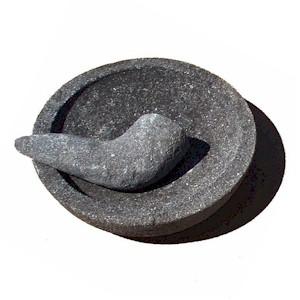 Stone Mortar Amp Pestle Ulekan Amp Cobek 5 Quot