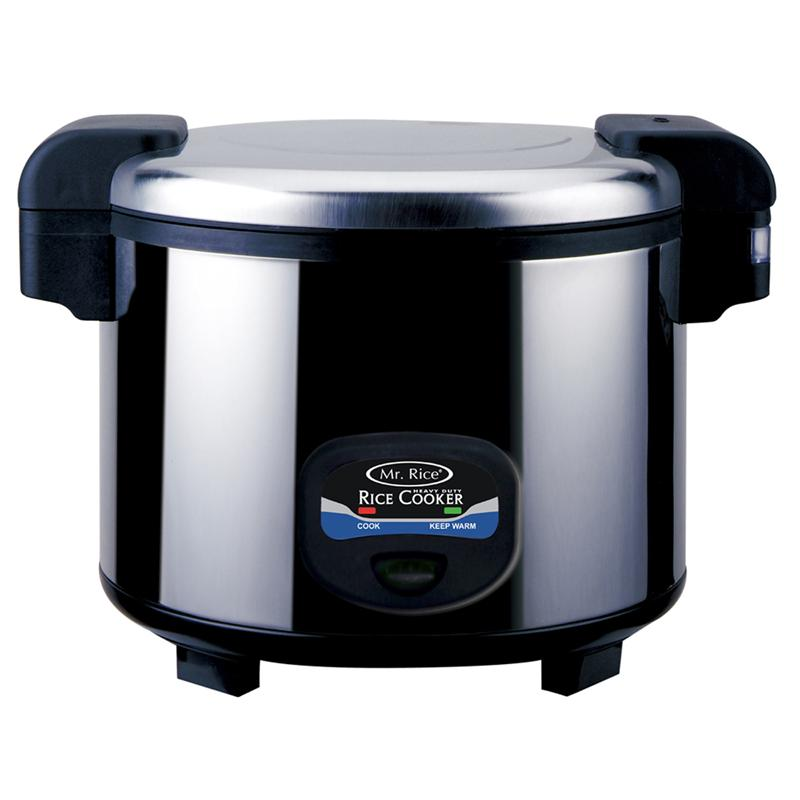 Largest Capacity Rice Cooker Steamer ~ Large heavy duty rice cooker cups capacity