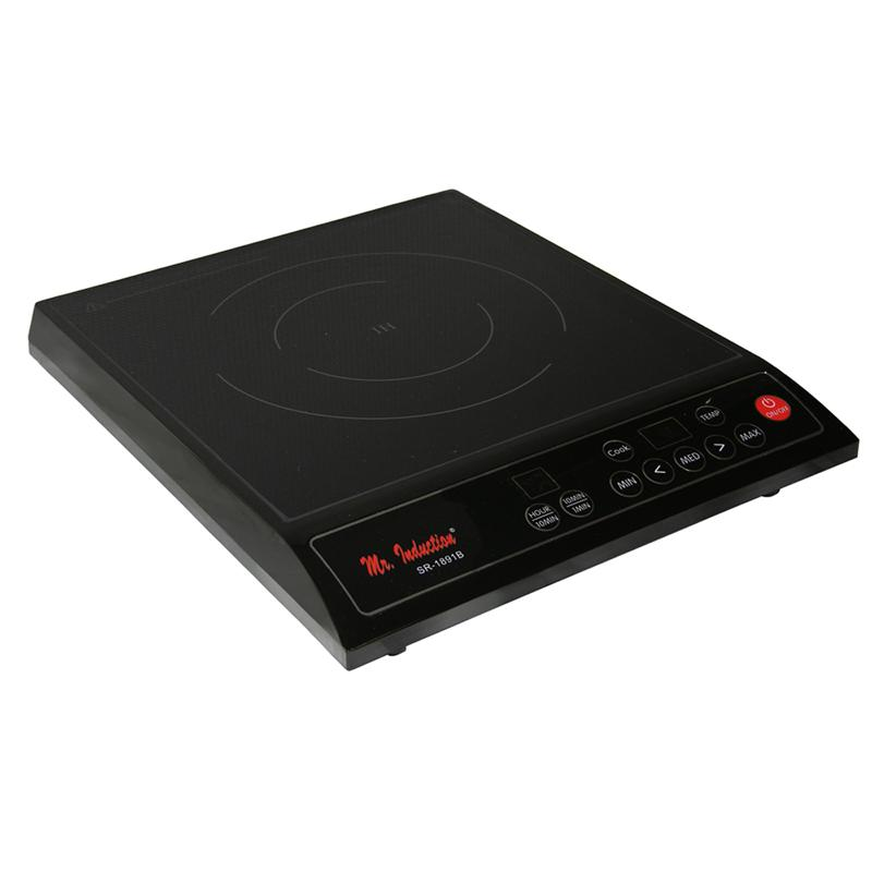 Induction Cooktop And Electric Stove (1300W
