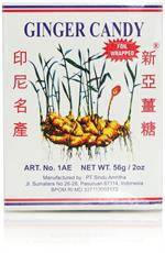 Ginger Candy Chewy Ting Ting Jahe 2oz By Sina