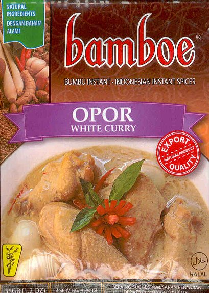 Opor (White Curry) 1.2 Oz. by Bamboe
